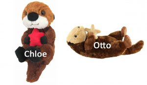 Chloe and Otto sea otter additions